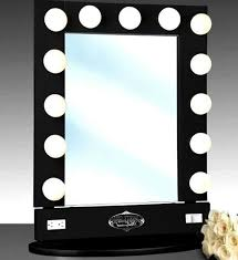Tabletop Vanity Mirror With Lights Makeup Vanity Table With Lighted Mirror Mugeek Vidalondon