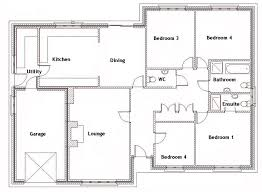 4 bedroom home plans scintillating house plans for 4 bedrooms photos best inspiration
