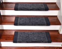 dean light blue scroll bullnose stair treads set of 3