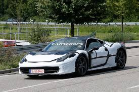 Ferrari 458 Turbo - ferrari spied testing 458 facelift will likely get new turbo u0027d v8