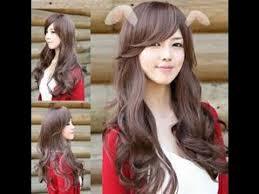 model rambut keriting gantung 15 model rambut keriting gantung panjang untuk wajah bulat youtube
