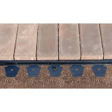 Paver Patio Kits by Proflex 48 Ft Paver Edging Project Kit In Black 1260hd 48c The