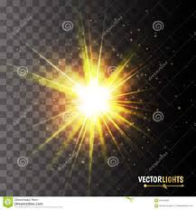 glow lights glow light effect golden lights vector illustration illustration