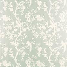 oriental garden eau de nil floral wallpaper laura ashley