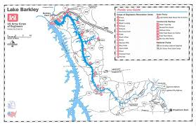 map kentucky lakes rivers nashville district locations lakes lake barkley maps