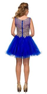 royal blue tulle juliet 758 royal blue gold applique embroidery tulle homecoming