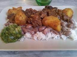 cabri massalé cuisine réunionnaise cabris massalé au pomme de terre riz blanc haricots et
