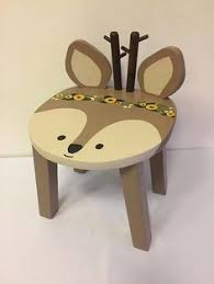 childrens table and stools toadstool table chairs kids furniture woodland animal stools