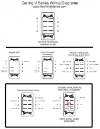 carling toggle switch wiring diagram wiring diagram and