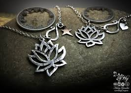 flower silver necklace images The hairy growler jewellery co kundalini collection celebrate jpg