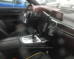 bmw dashboard all new bmw 5 series interior snapped without camouflage