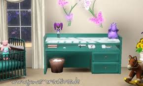 Toddler Changing Table Baby Changing Table At Janas Creatives Sims 3 Finds Sims 3