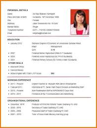 Resume Other Skills Examples Best 25 Curriculum Vitae Examples Ideas On Pinterest Curriculum