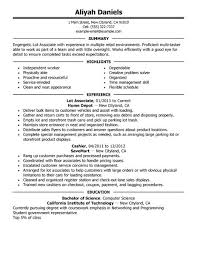 Images Of Job Resumes Best Part Time Lot Associates Resume Example Livecareer