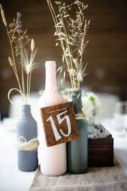Rustic Vases For Weddings 15 Ways To Decorate Your Wedding With Wine Bottles Rustic