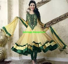 umbrella pattern salwar fashion style anarkali fancy umbrella new latest frocks 2013 2014