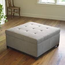 Tufted Storage Ottoman Robertson Fabric Storage Ottoman Mission Hills Furniture