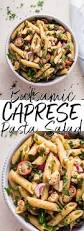 50 more vegetarian main dishes this balsamic caprese pasta salad is a light quick and simple