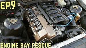 bmw e36 325i engine specs engine bay touch up bmw e36 325i sharkcar drift build ep 9