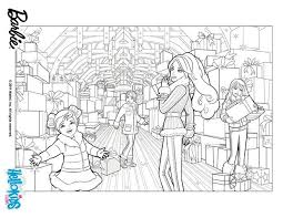 barbie sisters coloring pages hellokids
