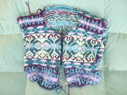 fair isle designs and continental knitting in stitches