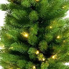 3ft potted slim pre lit artificial christmas tree pe christmas trees