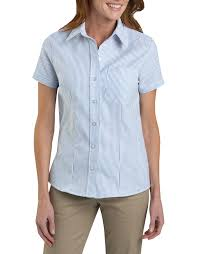 oxford blouse s sleeve stretch oxford shirt womens tops dickies