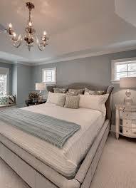 schlafzimmer blaugrau hellblau wandfarbe schlafzimmer polsterbett ausziehbett
