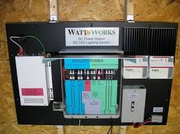 solar dc lighting system off grid remote dc lighting and solar power station overview wattworks