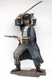 pop art decoration motifs pirates buccaneer with treasure