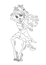 coloring pages girls monster high gallery of art monster high free