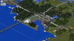 Minecraft New York Map by Here U0027s A Map Of The Inner Harbor Built In Minecraft Technical Ly