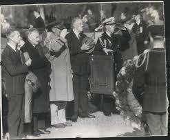 1944 president 1944 press photo president roosevelt arlington national cemetery