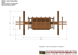best 25 garden arbor plans designs free garden arbor plans
