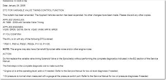 nissan altima 2005 no start 2002 nissan altima code poo11 changedtiming selnoid service