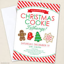 how to host a cookie exchange free printables