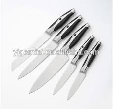 stainless steel kitchen knives emboss handle design stainless steel kitchen knife set view