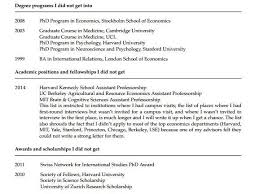 How To Get My Resume Noticed Online by A Princeton Psychology Professor Has Posted His Cv Of Failures