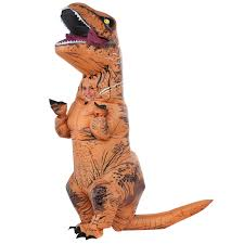 Animal Halloween Costumes For Women by Jurassic World Kids T Rex Inflatable Costume Buycostumes Com