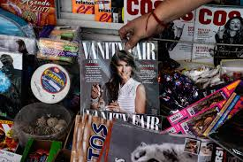 Vanity Fair Gift Subscription Melania Trump Vanity Fair Mexico Cover Sparks Outrage Fortune