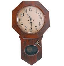 Wooden Wall Clock by Trend Clocks By Sligh Wooden Wall Clock Ebth