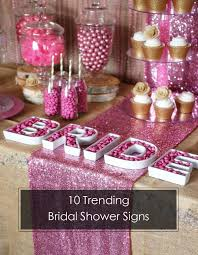 bridal shower banner phrases 10 trending bridal shower signs ideas to choose from