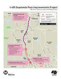 Caltrans Traffic Map This It It People Jamzilla 80 Hour Closure Of Northbound 405