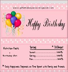 happy birthday candy wrapper template gifts that say wow free