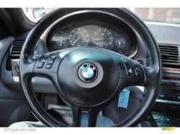 bmw 325i steering wheel 2003 bmw 3 series 325i convertible grey steering wheel photo