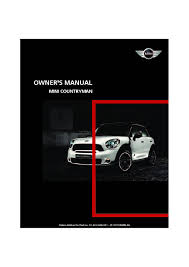 2011 mini countryman owners manual just give me the damn manual
