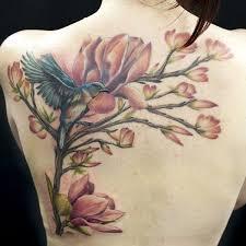 50 magnolia flower tattoos and design