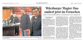 Mainpost Bad Kissingen Presse U0026 Referenzen Real And Honest Magic