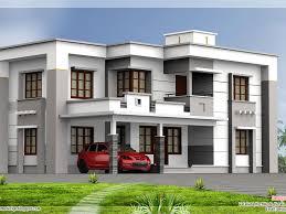 bedroom modern flat roof house kerala home design and floor plans