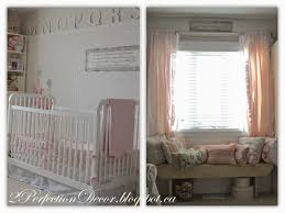 Shabby Chic Nursery Curtains by 2perfection Decor Our Daughters Bedroom Nursery Reveal